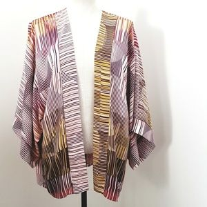 Cabi Kimono Drape front Cardigan